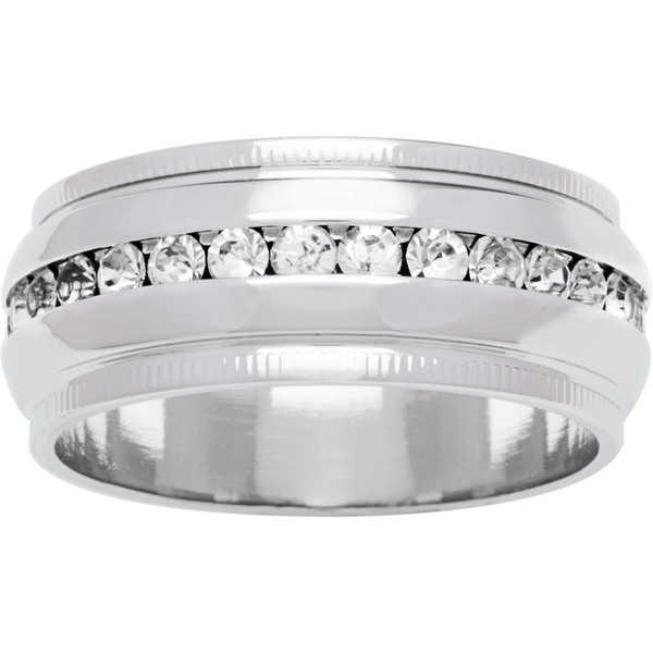 Simon Frank 'Beautiful Light' Collection Channel-set CZ Wedding Band
