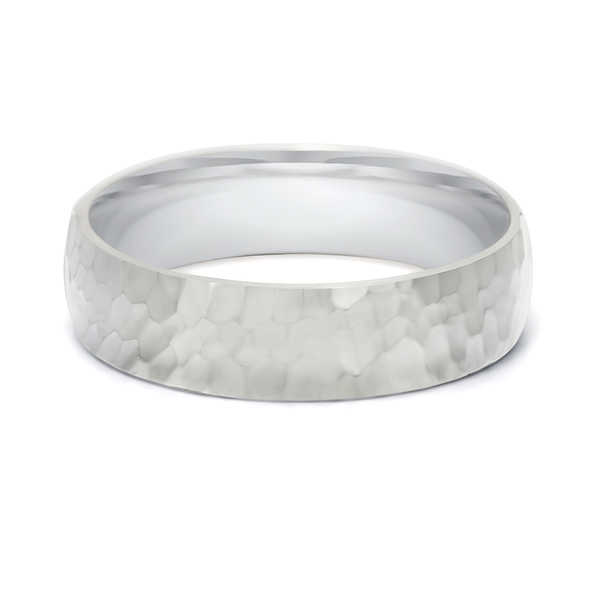 TwoBirch 5.5 Millimeter Wide Plain Men's Wedding Ring
