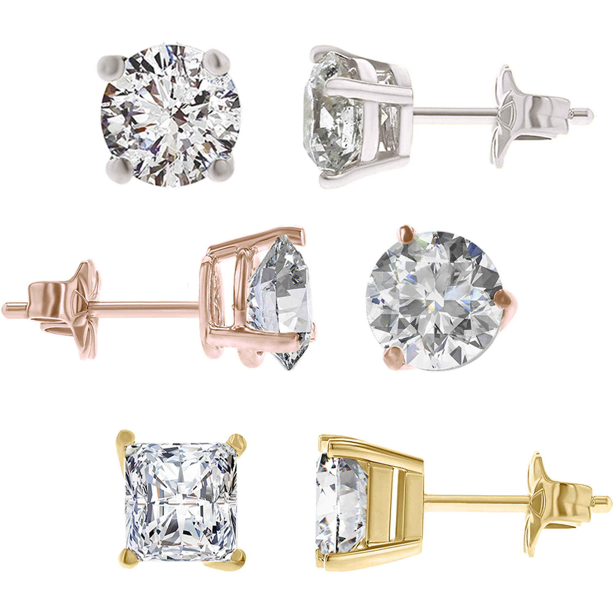 Design Your Own Diamond Stud Earrings, IGI Certified