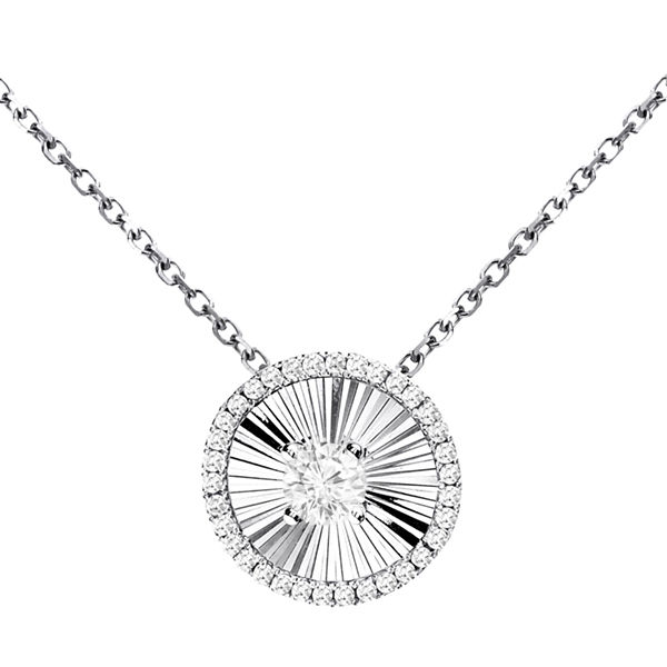 LIMITED QUANTITIES! 1/5 CT. T.W. White Diamond 14K Gold Pendant Necklace