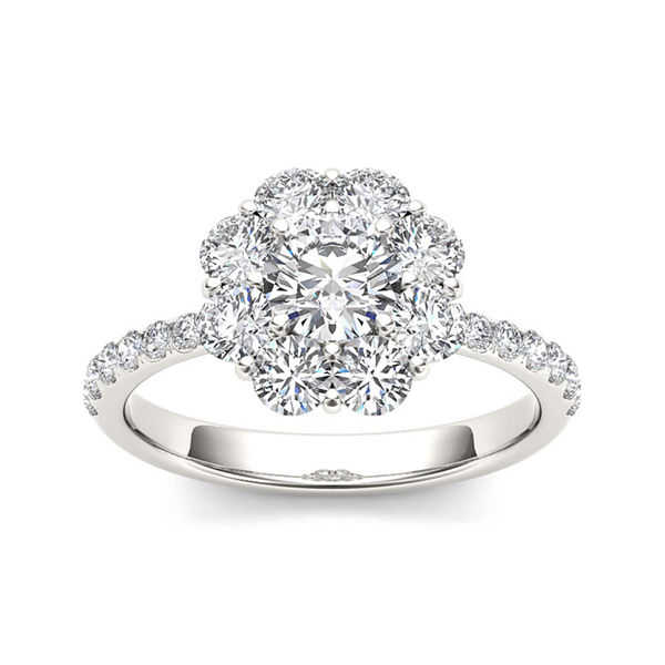 1 3/4 CT. T.W. Diamond 14K White Gold Engagement Ring