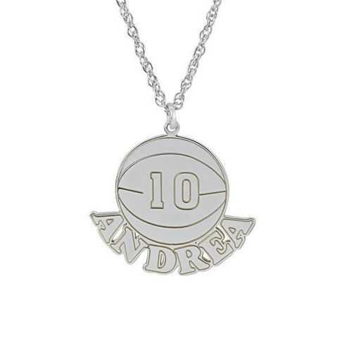 Your Basketball Pendant 20x16mm
